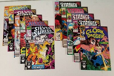 Infinity Gauntlet tie-in's, Cloak and Dagger 18, Silver Surfers & Dr. Strange