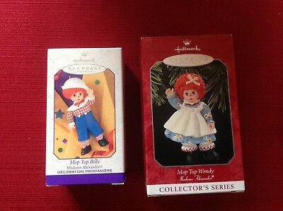 Hallmark Mop Top Wendy And Mop Top Billy New In Boxes