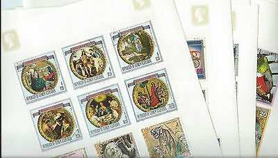 Equatorial Guinea stamps. 8 pages of mainly CTO unchecked. (X464)