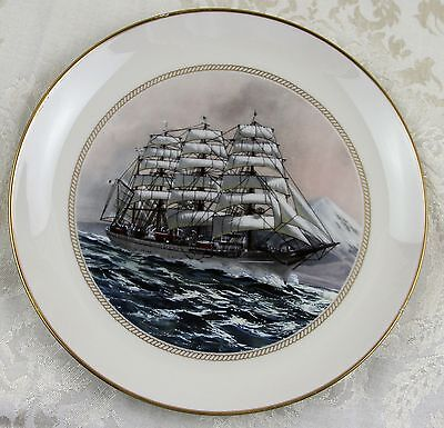 "Official Tall Ships Fine China Plate Collection ""Nippon Maru-Japan"""