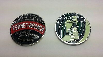 Fernet Branca Challenge Coin - Tales of the Cocktail NEW ORLEANS 2017 BRAND NEW