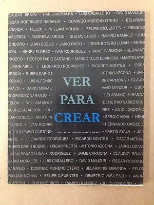 "Ramirez Sanchez Galeria, Paintings Catalog ""ver Para Crear"" !!"