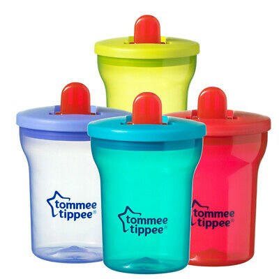 Tommee Tippee Essentials First Baby Drinking Cup Beaker 200ml 4m+