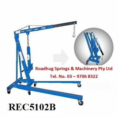 ENGINE CRANE, HOIST, ENGINE LIFTER 2 TON RATED FOLDING LEGS Part No. = EC5102B