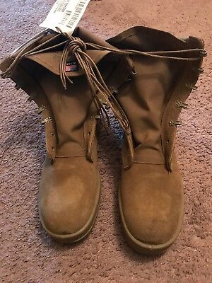 NWT Army Altama Hot Weather Combat Boot/ Size 9.5 Regular/ Coyote/Vibram