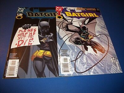 Batgirl #1,2 VF to NM Beauties lot of 2 Premiere Series Batman WOW!