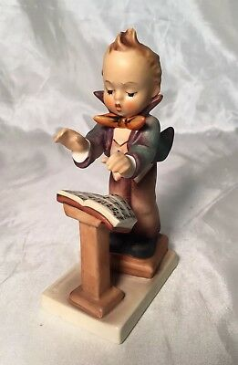Adorable Vintage Goebel Hummel Band Leader #129 Figurine Boy Conductor TMK-5 EVC
