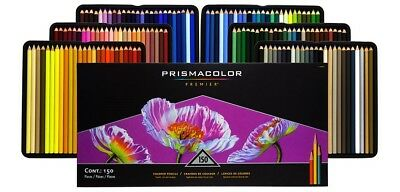 Prismacolor Premier Soft Core Color Pencils - 150 Colour Set - FAST 'N FREE