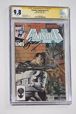 THE PUNISHER Limited Series #2 CGC 9.8 NM/MT Signed by GERRY CONWAY Rare Key