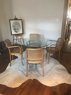 Four Hoffmann Modern Bentwood Stendig Prague Chairs Philly Nj NYC delivery