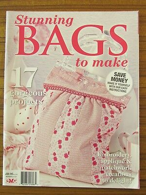 Stunning Bags To Make 2012 Tote Patchwork Applique Embroidery 17 Projects