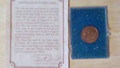 1808 Admiral Gardner  Shipwrecked 10 Cash coin