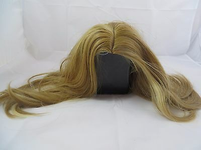 Women's Medium Straight Blonde Hair Wig Costume Party Adult New