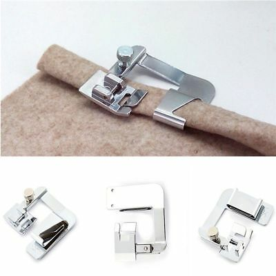 Useful Domestic Rolled Hem Presser Foot For Singer Brother Janome Sewing Machine