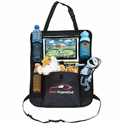 Storage & Organizers Luxury Car Backseat For Kids Toddlers BIG Tablet Holder Mat