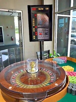 Roulette Winning number Display TCS Huxley brand double sided