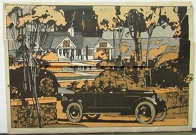 1922 1923 Studebaker Full Line Auto Cars Mailer Sales Brochure Orig Touring Cars