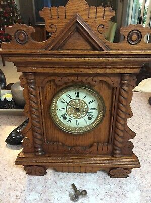 Ansonia Cottage Clock In Excellent Working Order