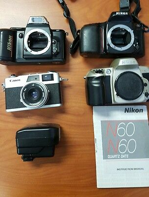 Lot of Film Cameras