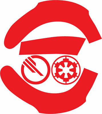 Star Wars Battlefront Inferno Squad Tie Fighter Helmet Decal Stickers Armor 501