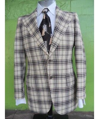 1960's checked jacket by Varsity Town Clothes.