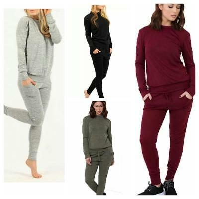 Ladies Women S Cap Sleeve Tracksuit Lounge Wear Jogging 2 Piece