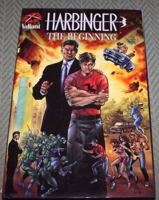 Harbinger The Beginning Valiant  Hardcover