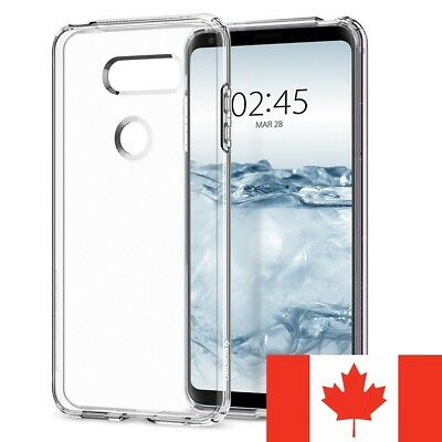 For LG V30 Case - Clear Thin Soft TPU Silicone Back Cover