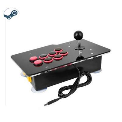 Professional Competitive Vibration Arcade Fighting Game Joystick for Steam PC