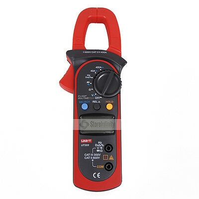 UNI-T UT203 Digital Multimeter AC DC Voltage Clamp Meter Aktuelle Clamp Tester