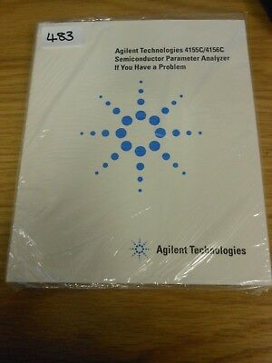 HP/Agilent 4155C/4156C Semiconductor Parameter Analyzer If you Have a Loc: 483