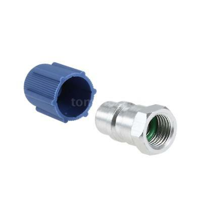 """R-12 to R-134a Retrofit Conversion Adapter Fitting LOW SIDE 1/4"""" (7/16 SAE) M4E2"""