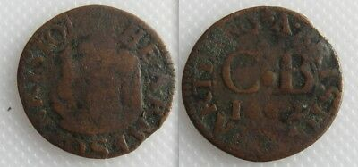 Collectable Bristol Farthing Token 1600's - Metal Detecting Find