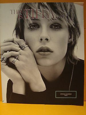 Tiffany & Co Catalog Spring Summer 2015 With Edie Campbell And Karolin Wolter