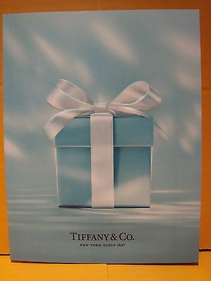 Tiffany & Co Jewelry 2016 Holiday Authentic Turquoise Blue Catalog In Japanese