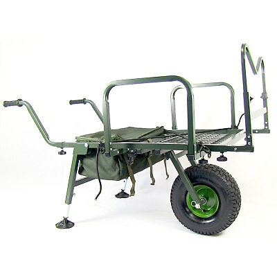 CarpZone Carp Fishing Barrow with Barrow Bag Included