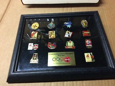 Coca Cola Collectible 1996 Olympic Pin Set