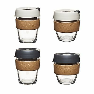 KeepCup Limited Edition Cork Mugs Filter Press 8oz 12oz Travel Mug Glass