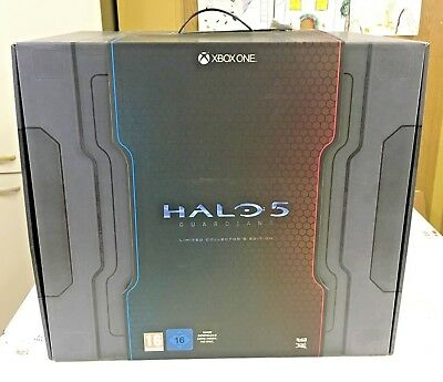 Halo 5 Guardians Limited Collector's Edition Xbox One Nuovo Raro Leggi