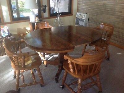 antique table dining