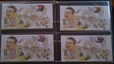 ALAN TURING Olympic first day covers London 2012. Complete matched number set.