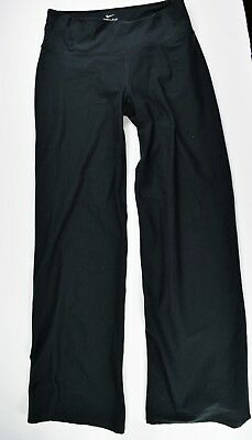 Nike Dri Fit Black Stretch Yoga Work Out Athletic Pants Running Women's Small