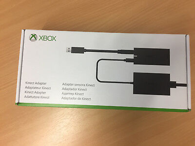 Microsoft XBox One S Kinect Sensor Adapter Windows PC & X Box One S