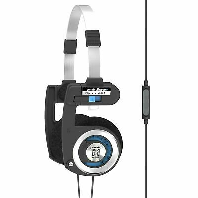 Koss Stereo On-Ear Headphones Porta Pro with Remote Black / Silver