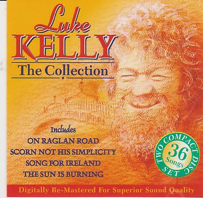 The Collection by Luke Kelly (CD, Aug-1994, 2 Discs, Outlet) VERY GOOD FREE S&H