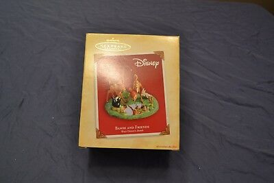 2004 BAMBI AND FRIENDS Hallmark Keepsake Ornament New in Box with Price Tag
