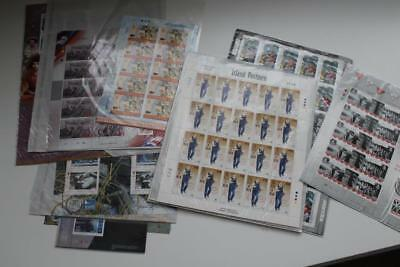 GB IOM Isle Of Man MNH Collection of Miniature Sheets Unused Face Value £206.75