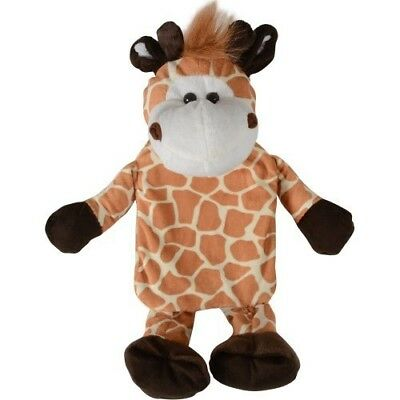 Novelty Hot Water Bottle With Plush Giraffe Cover New