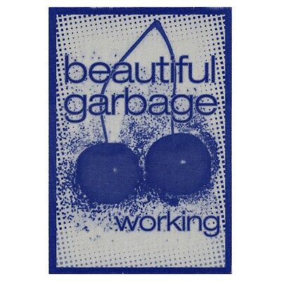 Garbage authentic Working 2001 tour Backstage Pass