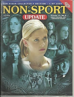 NSU Non-Sport Update San Diego Comic Con Edition 2003 w/ SD PROMO Cards SEALED